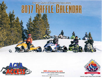 ACSA Raffle Calendar