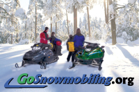GoSnowmobiling.org promotes the sport and lifestyle of snowmobiling