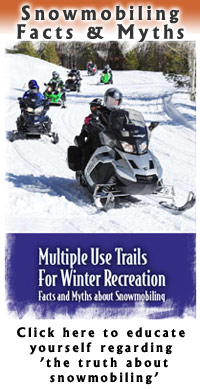 Multiple Use Trails for Winter Recreation – Facts and Myths about Snowmobiling