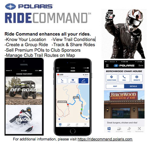 Polaris Ride Command App